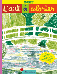 L'art à colorier : Monet - 9782378790042 - Mila Éditions - couverture