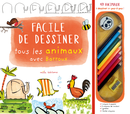 Facile de dessiner tous les animaux avec Barroux - 9782378790158 - Mila Éditions - couverture