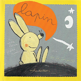 Ma vie, mon oeuvre : lapin - 9782840062684 - Mila Éditions - couverture