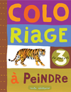 Coloriage à peindre : La jungle - 9782840063223 - Mila Éditions - couverture