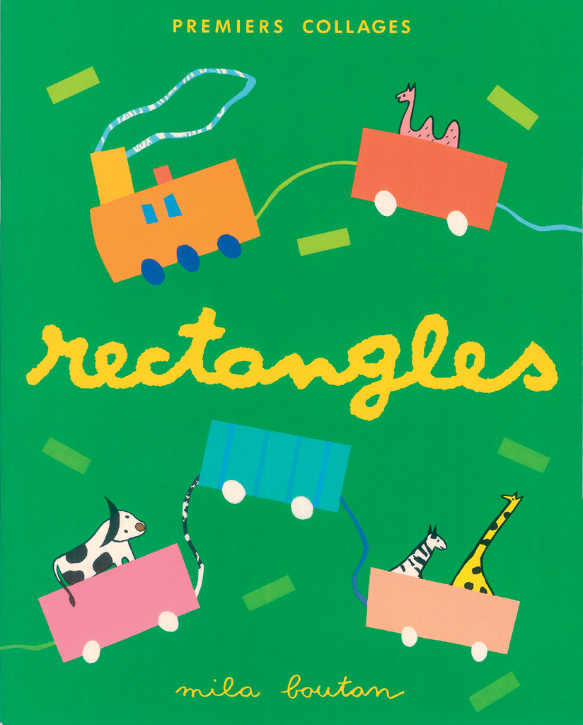 Premiers collages : rectangles - 9782840064084 - Mila Éditions - couverture