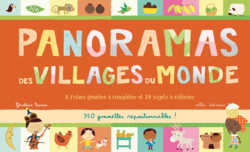 Panoramas des villages du monde - 9782840066156 - Mila Éditions - couverture