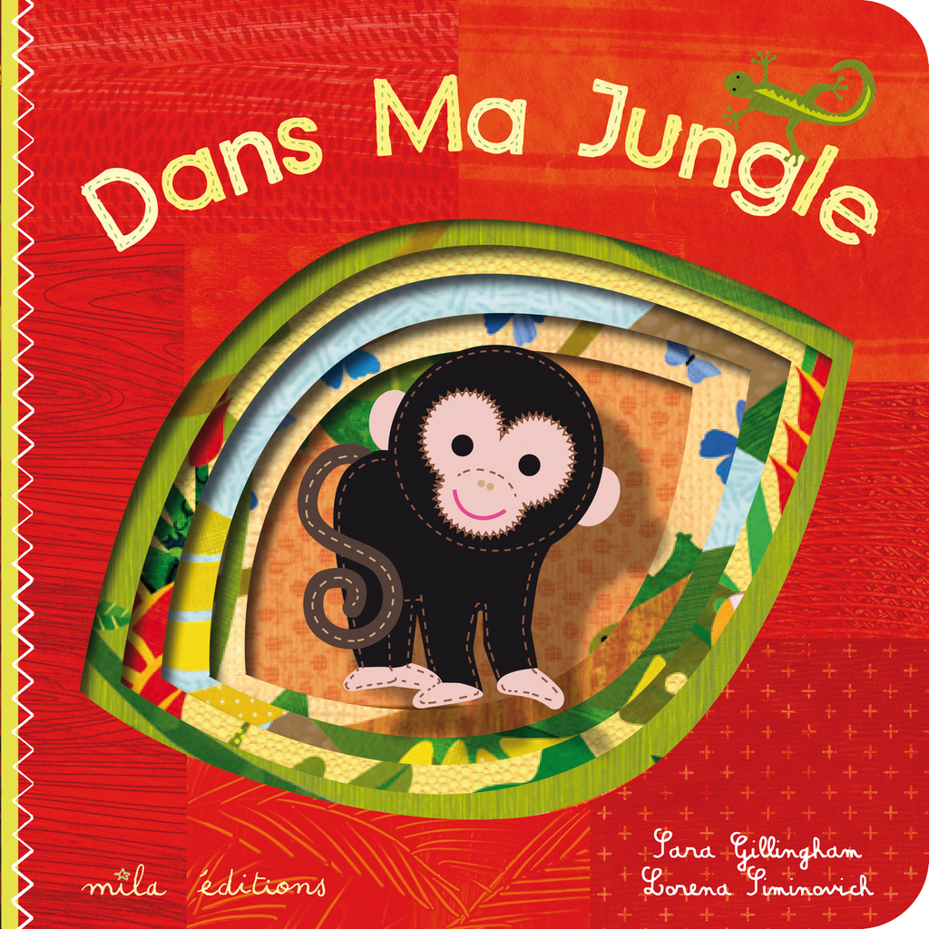 Dans Ma Jungle - 9782840066170 - Mila Éditions - couverture