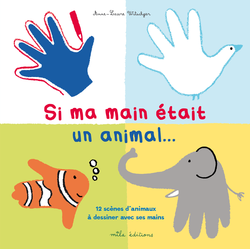 Si ma main était un animal... - 9782840066903 - Mila Éditions - couverture
