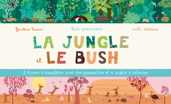 Mini-panoramas : La jungle et le bush - 9782840067412 - Mila Éditions - couverture