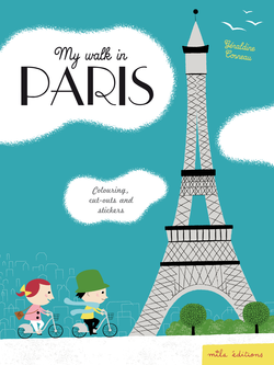 My walk in Paris - 9782840067443 - Mila Éditions - couverture