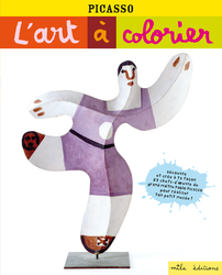 L'art à colorier : Picasso - 9782840068181 - Mila Éditions - couverture