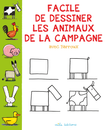 Facile de dessiner les animaux de la campagne avec Barroux - 9782840069386 - Mila Éditions - couverture