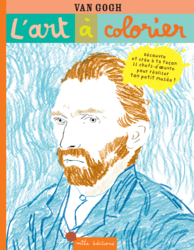 L'art à colorier : Van Gogh - 9782840069454 - Mila Éditions - couverture