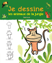 Je dessine les animaux de la jungle avec Barroux - 9782840069508 - Mila Éditions - couverture