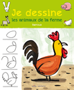 Je dessine les animaux de la ferme avec Barroux - 9782840069690 - Mila Éditions - couverture
